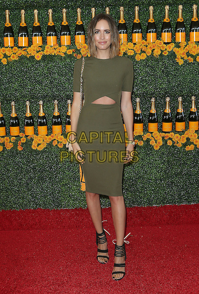 17 October 2015 - Pacific Palisades, California - Louise Roe. Sixth-Annual Veuve Clicquot Polo Classic, Los Angeles held at Will Rogers State Historic Park. <br /> CAP/ADM/FS<br /> &copy;FS/ADM/Capital Pictures