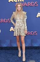 15 April 2018 - Las Vegas, NV - Tegan Marie.  2018 ACM Awards arrivals at MGM Grand Garden Arena. <br /> CAP/ADM/MJT<br /> &copy; MJT/ADM/Capital Pictures