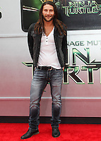 WESTWOOD, LOS ANGELES, CA, USA - AUGUST 03: Zach McGowan at the Los Angeles Premiere Of Paramount Pictures' 'Teenage Mutant Ninja Turtles' held at Regency Village Theatre on August 3, 2014 in Westwood, Los Angeles, California, United States. (Photo by Celebrity Monitor)