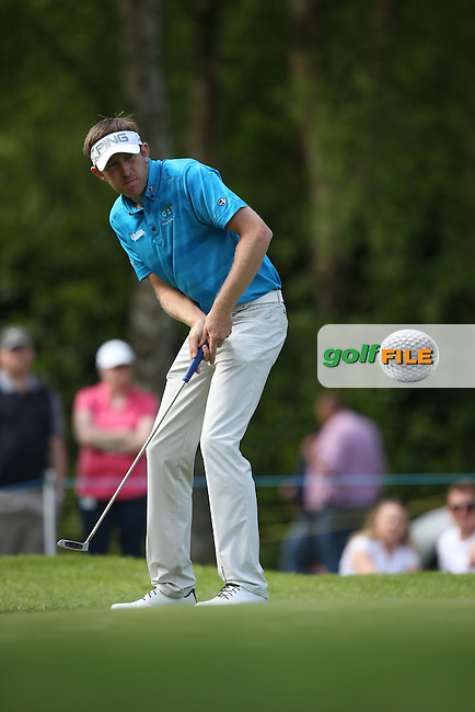 Jason Palmer (ENG) in action during Round Three of the 2015 BMW PGA Championship over the West Course at Wentworth, Virginia Water, London. 23/05/2015. Picture David Lloyd | www.golffile.ie.