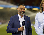 Spanish Journalist Guillem Balague in a roll of TV pundit during the Champions League Final match at the Millennium Stadium, Cardiff. Picture date: June 3rd, 2017.Picture credit should read: David Klein/Sportimage