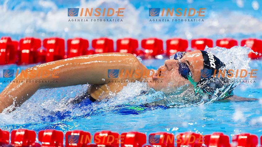 QUADARELLA Simona ITA<br /> London, Queen Elizabeth II Olympic Park Pool <br /> LEN 2016 European Aquatics Elite Championships <br /> Swimming<br /> Women's 800m freestyle preliminary  <br /> Day 10 18-05-2016<br /> Photo Giorgio Perottino/Deepbluemedia/Insidefoto