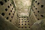 Israel, Shephelah, the Columbarium cave at Beth Guvrin national park
