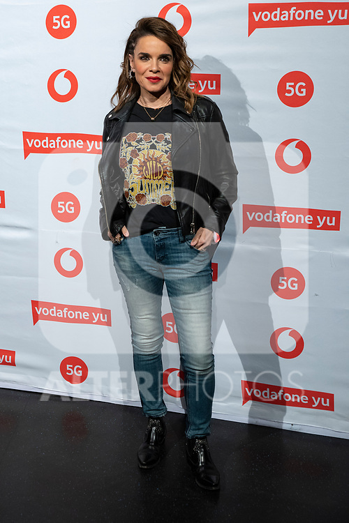 Carme Chaparro during the photocall of VODAFONE YU MUSIC SHOWS<br /> ESTOPA  in Concert. <br /> <br /> October 2, 2019. (ALTERPHOTOS/David Jar)