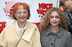 Carol Kane & Mom.attending the Broadway Opening Night Performance of 'Nice Work If You Can Get it' at the Imperial Theatre on 4/24/2012 at the Imperial Theatre in New York City. © Walter McBride/WM Photography .