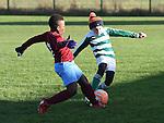 Drogheda Boys Olorum Juwon Termonfeckin Green Dara Brady. Photo:Colin Bell/pressphotos.ie