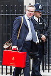 © Joel Goodman - 07973 332324 . 12/06/2013 . London , UK . The British Secretary of State for Education , MICHAEL GOVE , leaves 10 Downing Street this morning (Wednesday 12th June) ahead of Prime Minister's Questions . Photo credit : Joel Goodman