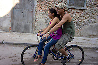 Most bicycles in Cuba are old chinese imports.