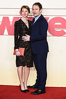 """Emma Lowndes and Jason Merrells<br /> arriving for the """"Military Wives"""" premiere at the Cineworld Leicester Square, London.<br /> <br /> ©Ash Knotek  D3557 24/02/2020"""