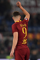 Edin Dzeko of AS Roma reacts during the Serie A 2018/2019 football match between AS Roma and FC Bologna at stadio Olimpico, Roma, February 18, 2019 <br />  Foto Andrea Staccioli / Insidefoto
