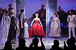 Christy Altomare and cast during Broadway Opening Night Performance Curtain Call bows for 'Anastasia' at the Broadhurst Theatre on April 24, 2017 in New York City.
