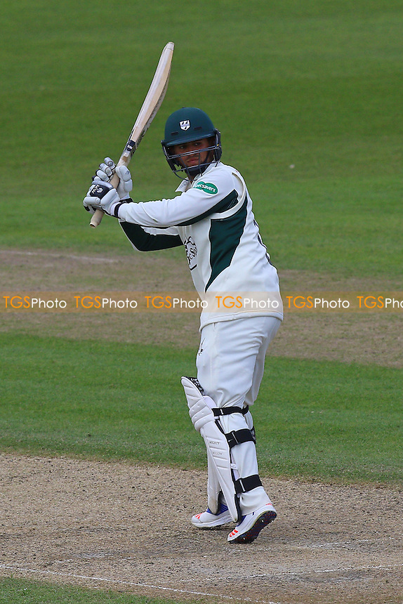 Brett D'Oliveira in batting action for Worcestershire during Worcestershire CCC vs Essex CCC, Specsavers County Championship Division 2 Cricket at New Road on 3rd May 2016