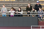 ?, Camryn Crowley, Maggie Taverna, Danielle Doherty, Kate Leary, Taylor Blake, ?, Corinne Boyles - The Boston College Eagles defeated the Northeastern University Huskies 5-1 (EN) in their NCAA Quarterfinal on Saturday, March 12, 2016, at Kelley Rink in Conte Forum in Boston, Massachusetts.