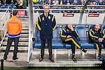 Solna 2015-10-12 Fotboll EM-kval , Sverige - Moldavien :  <br /> Sveriges f&ouml;rbundskapten head coach Erik Hamr&eacute;n Hamren inf&ouml;r matchen mellan Sverige och Moldavien <br /> (Photo: Kenta J&ouml;nsson) Keywords:  Sweden Sverige Solna Stockholm Friends Arena EM Kval EM-kval UEFA Euro European 2016 Qualifying Group Grupp G Moldavien Moldova portr&auml;tt portrait tr&auml;nare manager coach