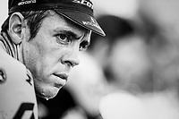 Team Mitchelton-Scott warming up ahead of the race<br /> <br /> Stage 19: Lourdes &gt; Laruns (200km)<br /> <br /> 105th Tour de France 2018<br /> &copy;kramon