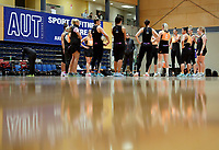 10.09.2018 Silver Ferns during the Silver Ferns training in Auckland. Mandatory Photo Credit ©Michael Bradley.