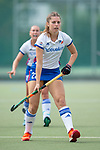 Mannheim, Germany, September 07: During the field hockey Bundesliga match between Mannheimer HC and Harvestehuder THC on September 7, 2019 at Am Neckarkanal in Mannheim, Germany. Final score 2-0. (Photo by Dirk Markgraf / www.265-images.com) *** Merle Sophie Knobloch #22 of Mannheimer HC