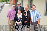 PJ, Shelia, John, Patsy and Richard Rowan at the official opening of the Tralee Community Nursing Unit on Friday.