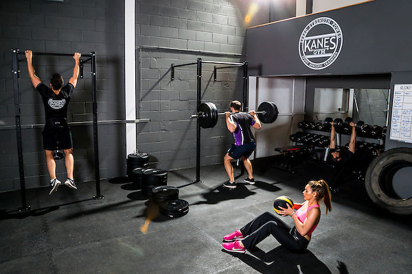 Kanes Gym<br /> Rawtenstall Commercial Photography<br /> By Chalkie Bolton Photography
