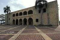 Alcazar de Don Diego Colon..Castle Don Diego Columbus..Santo Domingo