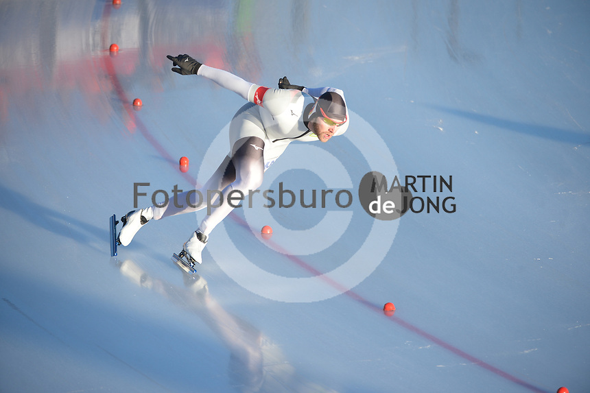 SPEED SKATING: COLLALBO: Arena Ritten, 11-01-2019, ISU European Speed Skating Championships, Nico Ihle (GER), ©photo Martin de Jong