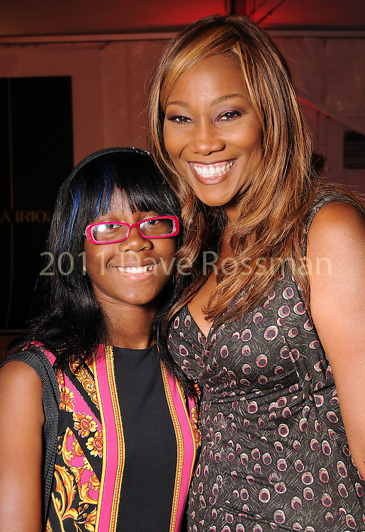 Yolanda Adams and her daughter Taylor Crawford at the third night of Fashion Houston at the Wortham Theater Wednesday Oct. 12,2011.(Dave Rossman/For the Chronicle)