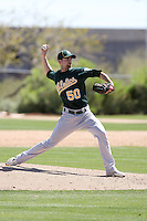 Mike Madsen, Oakland Athletics 2010 minor league spring training..Photo by:  Bill Mitchell/Four Seam Images.