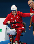 Rio de Janeiro-9/9/2016-Nathan Clement swims in the men's 50m fly finals at the 2016 Paralympic Games in Rio. Photo Scott Grant/Canadian Paralympic Committee