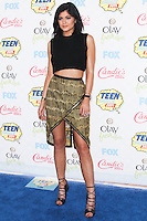 LOS ANGELES, CA, USA - AUGUST 10: Kylie Jenner arrives at the Teen Choice Awards 2014 held at The Shrine Auditorium on August 10, 2014 in Los Angeles, California, United States. (Photo by Celebrity Monitor)