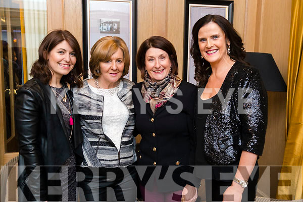 Gail Groves, Ann Condon, Margaret O'Shea and Oonagh O'Rahilly, enjoying Ballymac Strictly Come Dancing, at Ballygarry House Hotel & Spa, Tralee, on Saturday night last, were l-r: