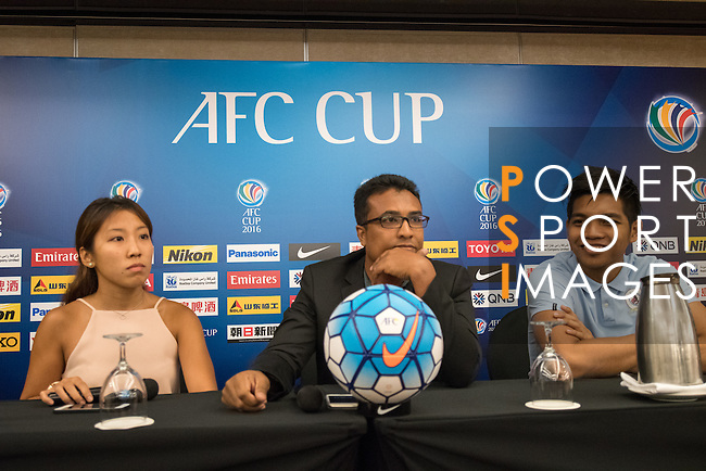 Pre-Match Press Conference and Official Training Sessions prior to the AFC Cup 2016 Quarter Finals match between Tampines Rovers (SIN) vs JSW Bengaluru FC (IND) at Jalan Besar Stadium on 20 September 2016, in Singapore. Photo by Stringer / Lagardere Sports
