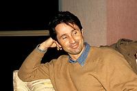 FILE - Thierry Lhermitte en entrevue, le 7 fevrier 1990<br /> <br /> <br />  Photo : Pierre Roussel - Agence Quebec Presse