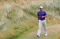 Pablo Larrazabal (ESP) on the 7th during Round 3 of the Dubai Duty Free Irish Open at Ballyliffin Golf Club, Donegal on Saturday 7th July 2018.<br /> Picture:  Thos Caffrey / Golffile
