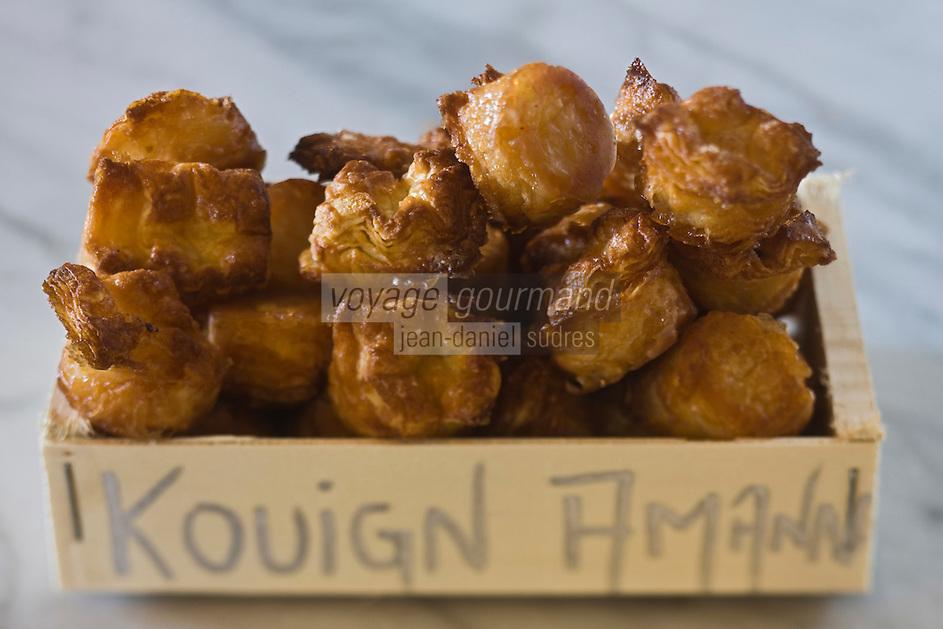 Europe/France/Bretagne/29/Finistère/Lannilis: Les Mini-Kouing Amann de Michel Izard boulanger:  La Maison du Boulanger