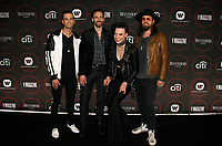 LOS ANGELES, CA - FEBRUARY 07: Lzzy Hale, Arejay Hale, Joe Hottinger, Josh Smith of Halestorm attend the Warner Music Pre-Grammy Party at the NoMad Hotel on February 7, 2019 in Los Angeles, California.     <br /> CAP/MPI/IS<br /> &copy;IS/MPI/Capital Pictures