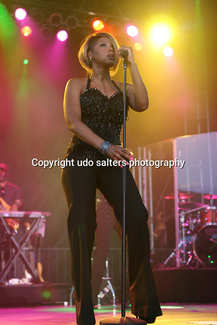 Toni Braxton performs at The Martin Luther King Jr. Concert Series- An Evening With Toni Braxton, Brooklyn NY 7/19/10