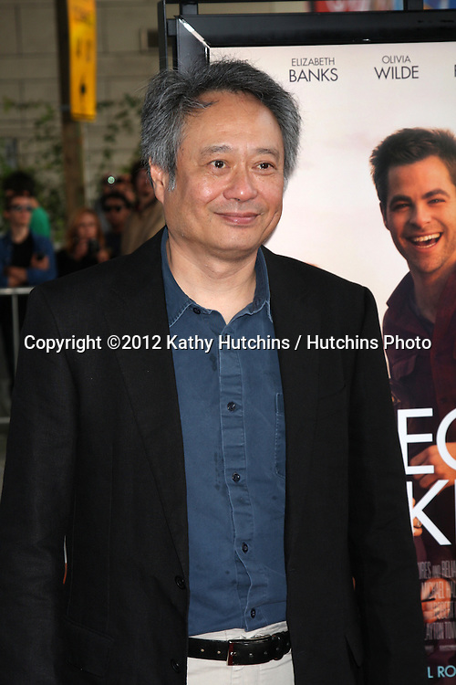 "LOS ANGELES - JUN 15:  Ang Lee arrives at the ""People LIke Us"" LAFF Premiere at Regal Cinemas at LA Live on June 15, 2012 in Los Angeles, CA"