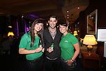 Celebrity Golf @ Golf Live.Celtic Manor Resort.Abbie Purnell & Jane Owen with Matt Johnson..10.05.13.©Steve Pope