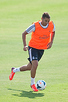 Benzema during Real Madrid´s first training session of 2013-14 seson. July 15, 2013. (ALTERPHOTOS/Victor Blanco) ©NortePhoto