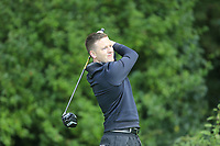 Gavin McKenna (Donaghadee) during the final of the Irish Mid-Amateur Open Championship, Royal Belfast Golf CLub, Hollywood, Down, Ireland. 29/09/2019.<br /> Picture Fran Caffrey / Golffile.ie<br /> <br /> All photo usage must carry mandatory copyright credit (© Golffile   Fran Caffrey)