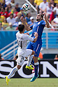 (T-B) Giorgio Chiellini (ITA), Nicolas Lodeiro (URU), JUNE 24, 2014 - Football / Soccer : FIFA World Cup Brazil 2014 Group D match between Italy 0-1 Uruguay at Estadio das Dunas in Natal, Brazil. (Photo by Maurizio Borsari/AFLO)