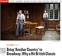 Another Country, Trafalgar Studios, The Daily Beast, 06.02.14