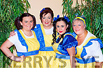Selina O'Grady, Orna Eccles, Krystal Cronin and Claire Hoare performing at the Killorglin Panto Pinocchio on Saturday