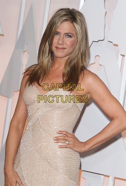 22 February 2015 - Hollywood, California - Jennifer Aniston. 87th Annual Academy Awards presented by the Academy of Motion Picture Arts and Sciences held at the Dolby Theatre. <br /> CAP/ADM<br /> &copy;AdMedia/Capital Pictures Oscars