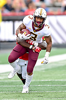 College Park, MD - SEPT 22, 2018: Minnesota Golden Gophers wide receiver Chris Autman-Bell (3) runs the football  during game between Maryland and Minnesota at Capital One Field at Maryland Stadium in College Park, MD. The Terrapins defeated the Golden Bears 42-13 to move to 3-1 on the season. (Photo by Phil Peters/Media Images International)