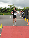 Paul Smith finished in third place in the REHAB 10k run organized by St Colmcilles GAA club. Photo: Colin Bell/pressphotos.ie