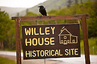 Willey House historical Site is pictured in the Crawford Notch State Park is seen in New Hampshire Wednesday June 12, 2013. formerly a small inn and residence in Crawford Notch, The Willey House is the site of a landslide that claimed nine lives in August of 1826.