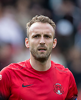 Liam Kelly of Leyton Orient during the Sky Bet League 2 match between Leyton Orient and Wycombe Wanderers at the Matchroom Stadium, London, England on 1 April 2017. Photo by Andy Rowland.