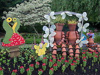 Childrens garden. The Oregon Garden. Silverton, Oregon