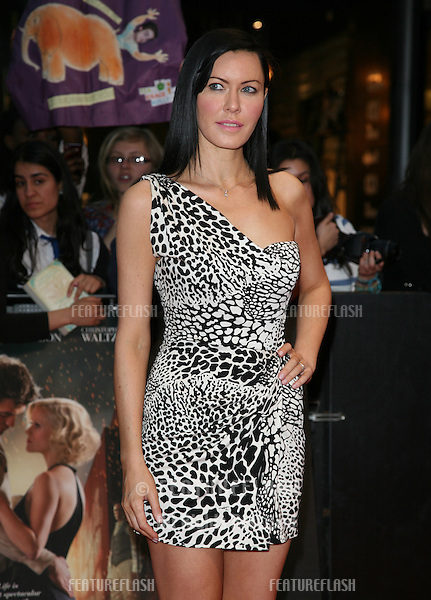 Linzi Stoppard arriving for the UK film premiere of Water For Elephants, at Vue Westfield, west London. 03/05/2011  Picture by: Alexandra Glen / Featureflash